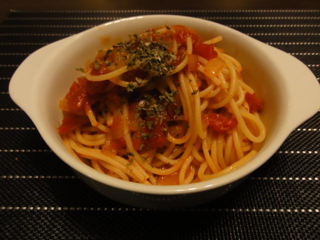2011年2月7日 夕食(トマトパスタ)