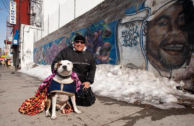 Tony and Friend: Melrose Houses Bronx