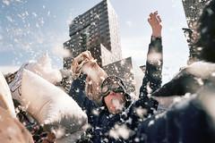(Gebhart de Koekkoek) Tags: nyc portrait newyork guy film 35mm fun fight yeah bessa pillow winner 2008 r2m