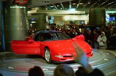 1997 Chevrolet Corvette (dharder9475) Tags: film 35mm unitedstates michigan detroit 1997 c6 naias chevroletcorvette detroitautoshow northamericaninternationalautoshow 4star ricohxrm privpublic