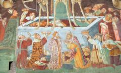 Trionfo della morte e Danza macabra,Oratorio dei Disciplini, Clusone, Bergamo (renzodionigi) Tags: skeleton death danza morte bergamo affreschi frescos frescoes pittura scheletro clusone