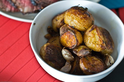 Roast Potatoes in Beef and Bacon fat
