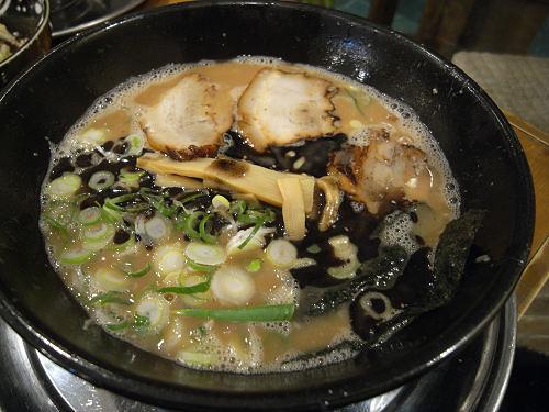 限定の「中太ちぢれ麺」が美味『やまざき屋』@広陵町