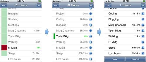 Evolution of App's Main Screen