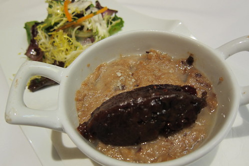 Pork Rillette with Dried Fruit Compote + Salad