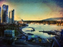 Coal harbour ..  Vancouver (ZedZap Photos) Tags: city travel canada tourism vancouver landscape bc canadian nationalgeographic coalharbor zedzap