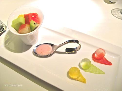 舒果新米蘭蔬食水果優格沙拉