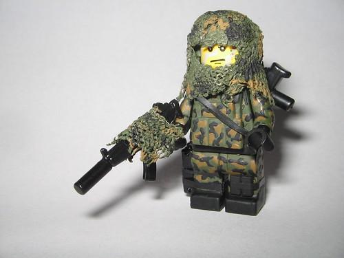 Custom minifig Navy SEAL
