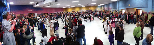Panorama of the Cafeteria