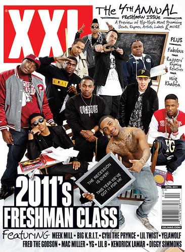 2011 XXL FRESHMAN CLASS COVER