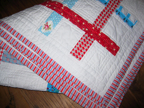 square dance quilt binding