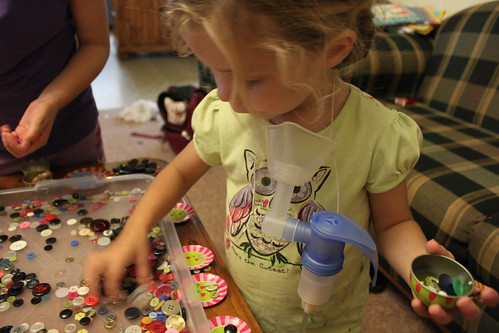 Amelia sorting buttons