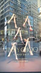 JINNY CHOO@Saks Fifth Avenue / New York (Kenzo*) Tags: nyc newyorkcity usa newyork display manhattan lifestyle advertisement american saksfifthavenue 生活 廣告 時尚 紐約 曼哈頓 時尚旗艦店 flagshipfashionstore