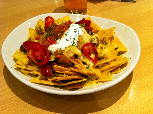 Chicken nachos at the Filmhouse Cafe Bar, Edinburgh