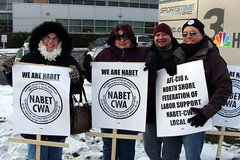 """We Are NABET"" Mobilization"