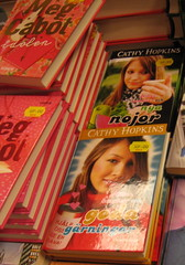 Meg Cabot and Cathy Hopkins in The Sale
