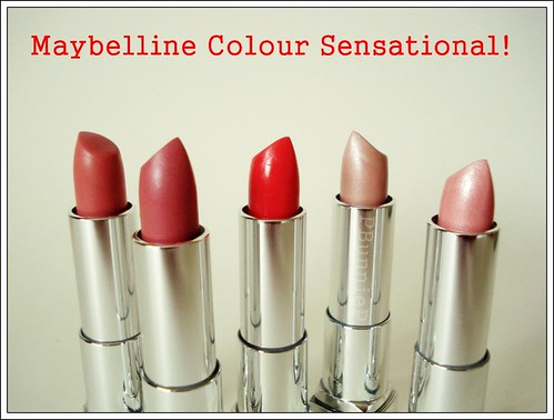 Maybelline Colour Sensational Lipstick