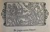 De pugna contra Faunos: Woodcut illustration from Historia de gentibus septentrionalibus