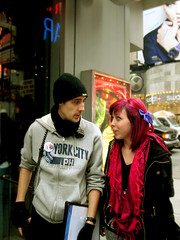 IMG_23966 (courdyanne) Tags: life new york city pink boy people girl hair typical carry yorker