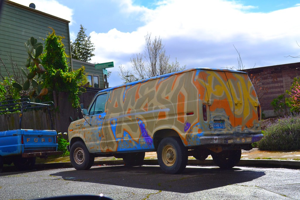 ACESO, AUK, Van, truck, Street Art, Graffiti, Oakland