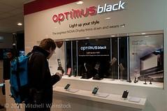 MWC 2011 LG Optimus Black booth-4323