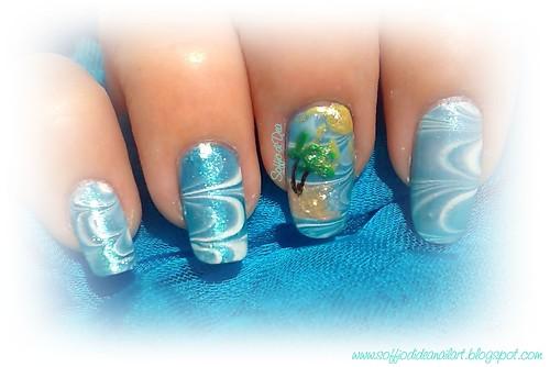 marble nail art-68