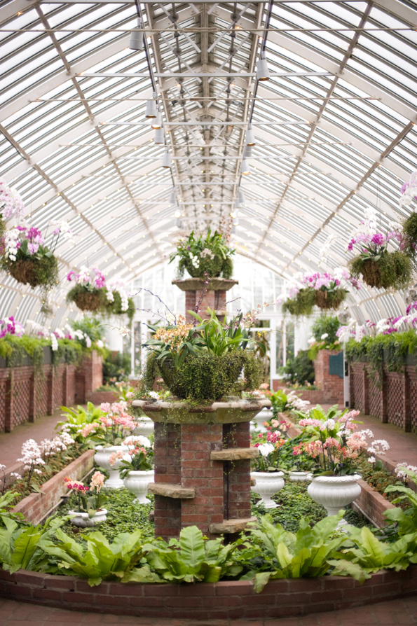 Wedding at Phipps Conservatory