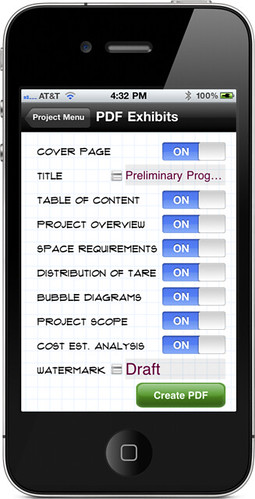 Inception Jr. PDF Exhibit Options