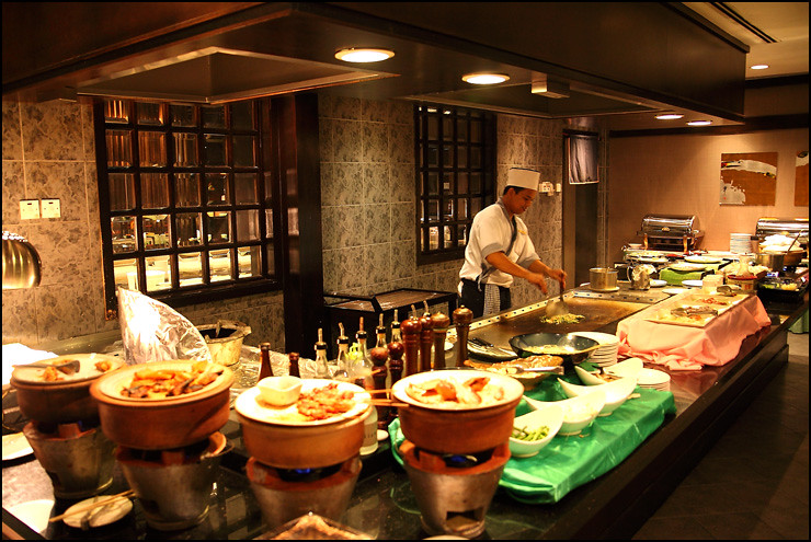 teppanyaki-section