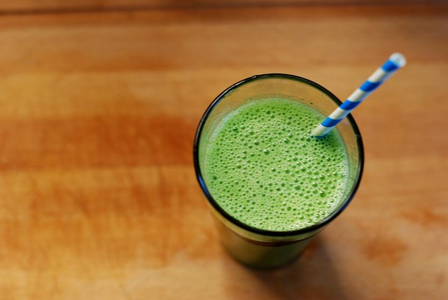 kale & spinach smoothie