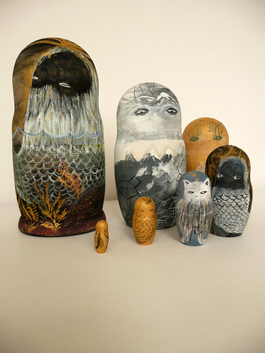 Landscape Nesting Dolls Together