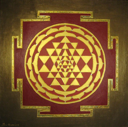 Prosperity Sri Yantra by Julie Fatemian