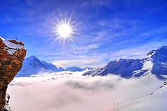 Jungfrau massif (carlos_seo) Tags: mountain alps landscape schweiz switzerland first grindelwald 2011 interestingness122 nikond90 tokina111628 jungfraumassif explore01mar2011