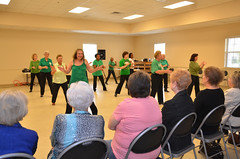 Senior Strutters March Show (Old Shoe Woman) Tags: usa georgia dance exercise dancing lakepark seniorcitizens linedance seniorstrutters
