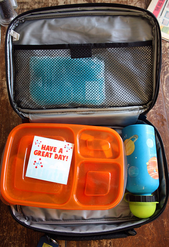 First Grade Bento #422: In the lunch bag