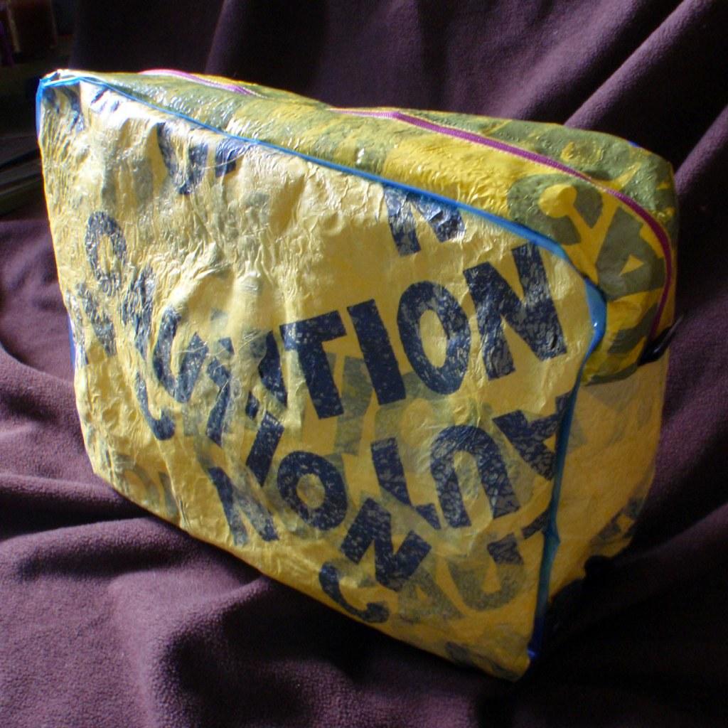 Caution Gym Tote