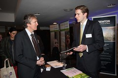 Newton Investment Management stand at the NCVO...
