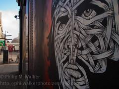 Che (II) (Phil Walker Photo) Tags: streetart london graffiti alice olympus shoreditch olympuspen roa c215 mightymonkey graffitiartists microfourthirds cityzenkane ottoschade