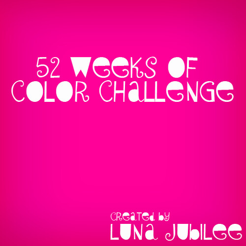 Luna Jubilee's 52 Weeks of Color Challenge