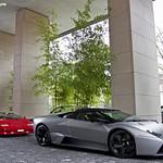 Lamborghini Countach 25th & Lamborghini Reventon Roadster
