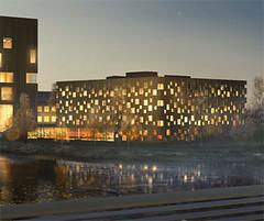 Arkitekthögskolan i Umeå (Skogsindustrierna) Tags: 2012 träpriset