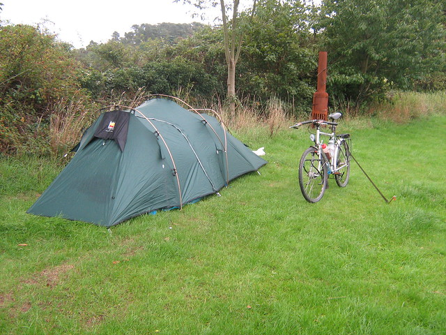 Wild country Duo-lite tourer. & Tent pics...