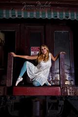 Dance Series (Jenna Michele Photography) Tags: ballerina urbanexploration highfashion abandonedtrain
