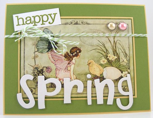 Happy Spring Card