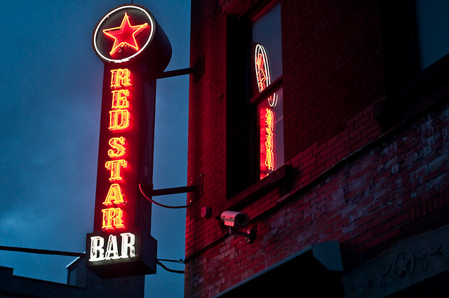 64/365 - Red Star Bar, Greenpoint.