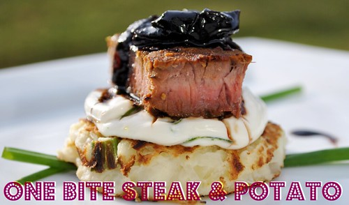 One Bite Steak & Potato 1