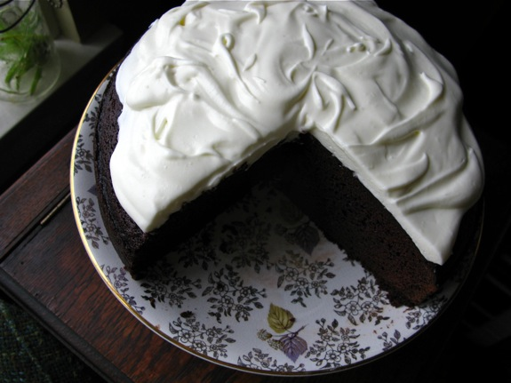 chocolate guinness cake 008