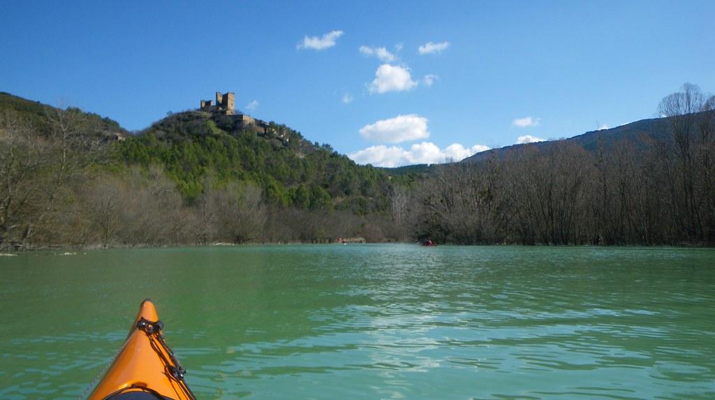 Pantano de Yesa en kayak 014