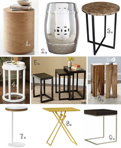 accent side tables