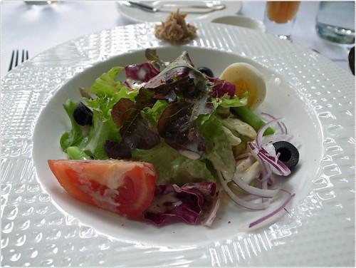 千樺花園。野菜沙拉